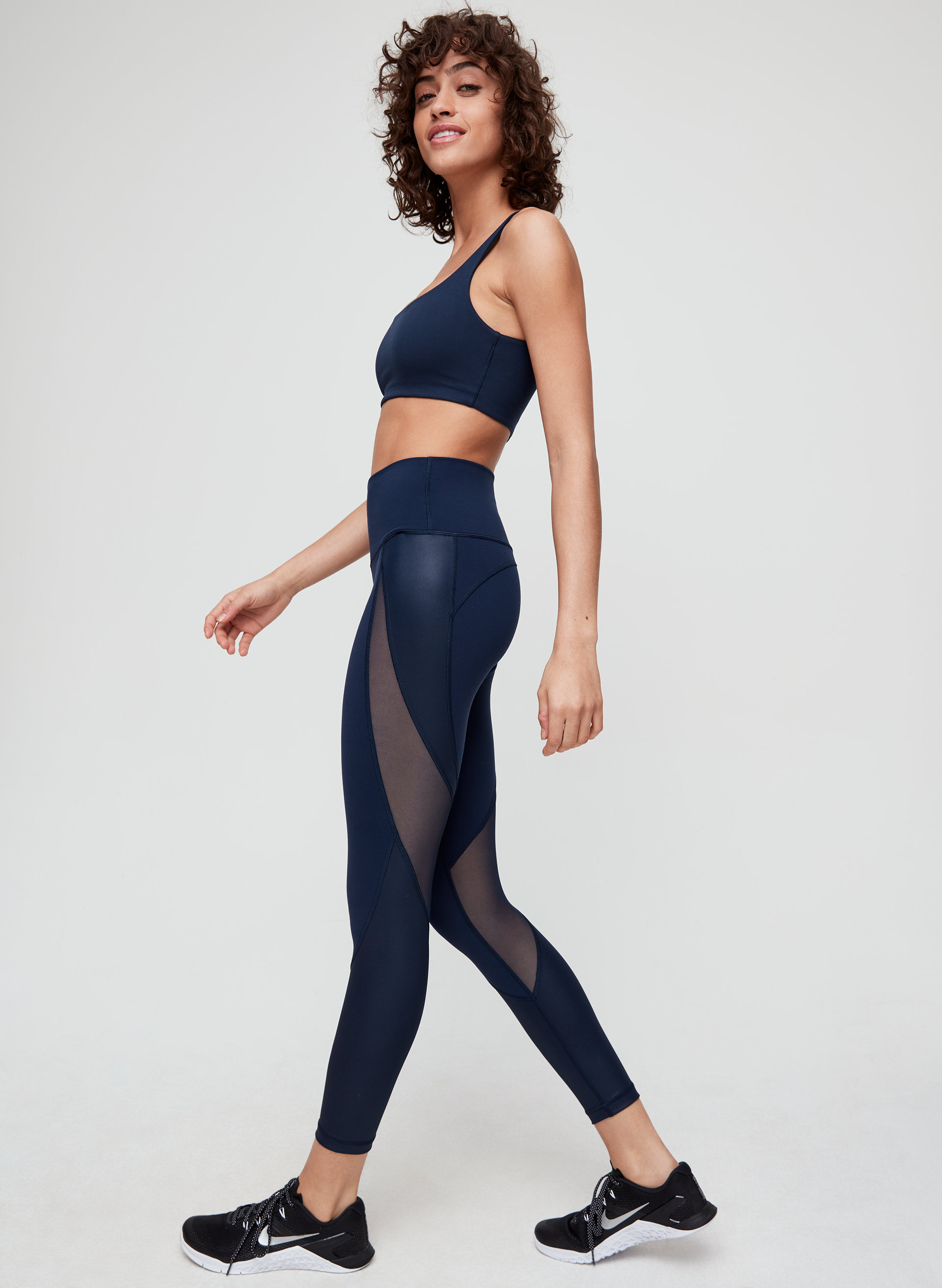 265826235e969 relay squad pant High-waisted, mesh workout legging