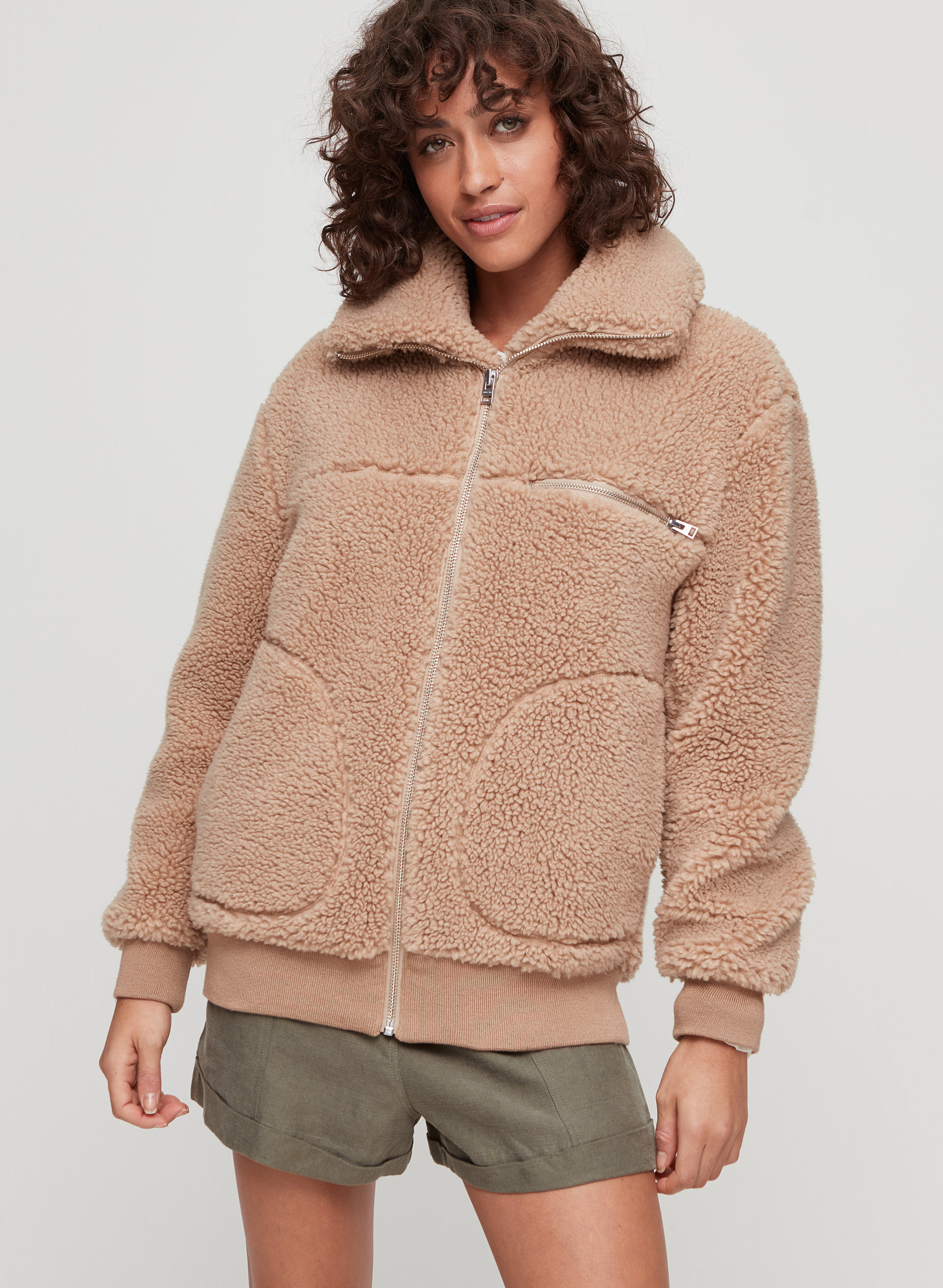 528ea4cac Wilfred Free THE TEDDY JACKET   Aritzia US