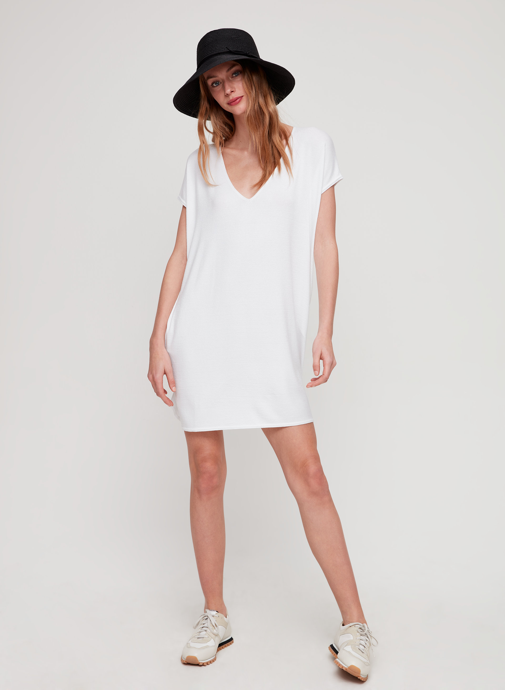 b0da312b670f ... Aritzia . MARCOUX DRESS - Jersey t-shirt dress with pockets