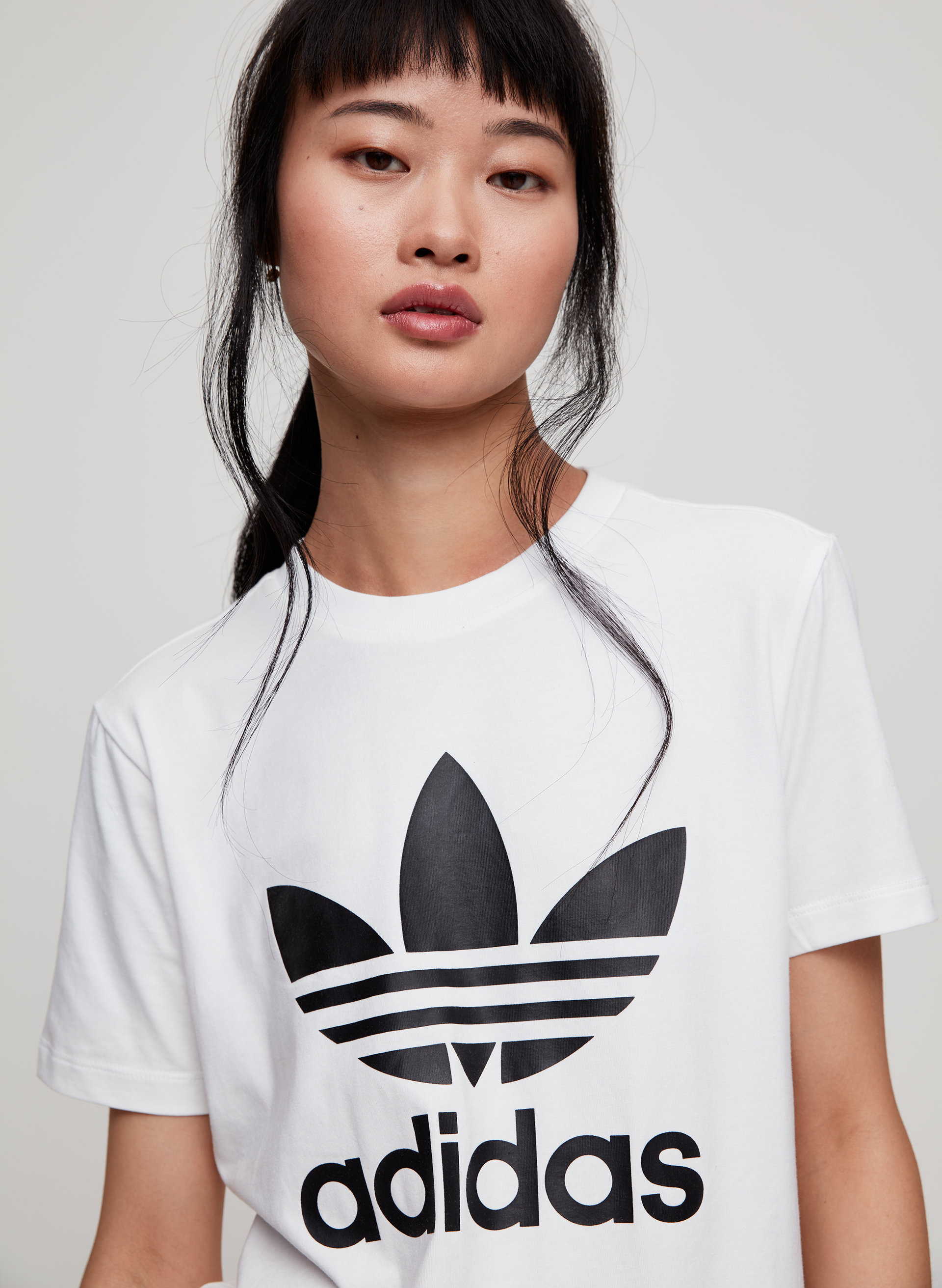 free delivery detailed look new list adidas TREFOIL TEE | Aritzia CA