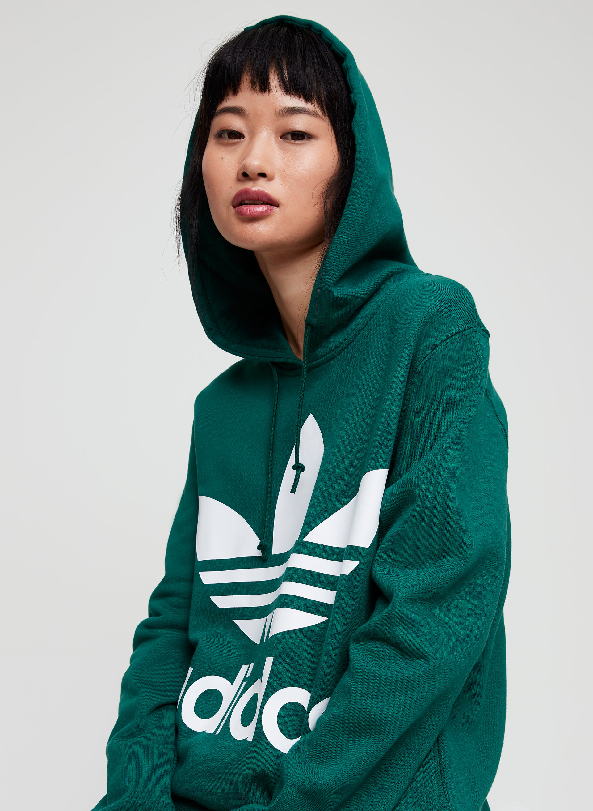 adidas oversized hoodie dress