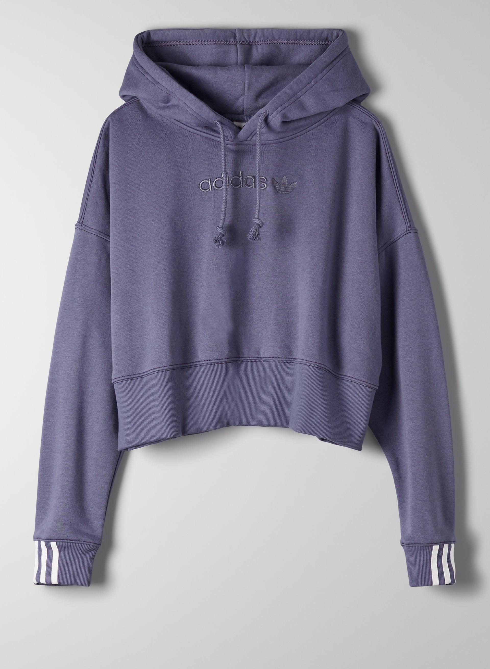 3bf6e7af COEEZE HOODIE CROP - adidas cropped hoodie