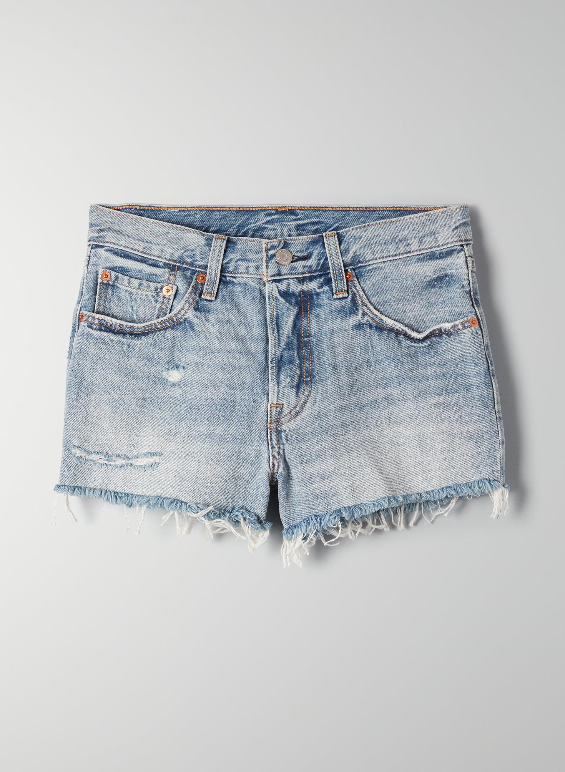 9136a16afbd 501 SHORT - Mid-rise denim shorts