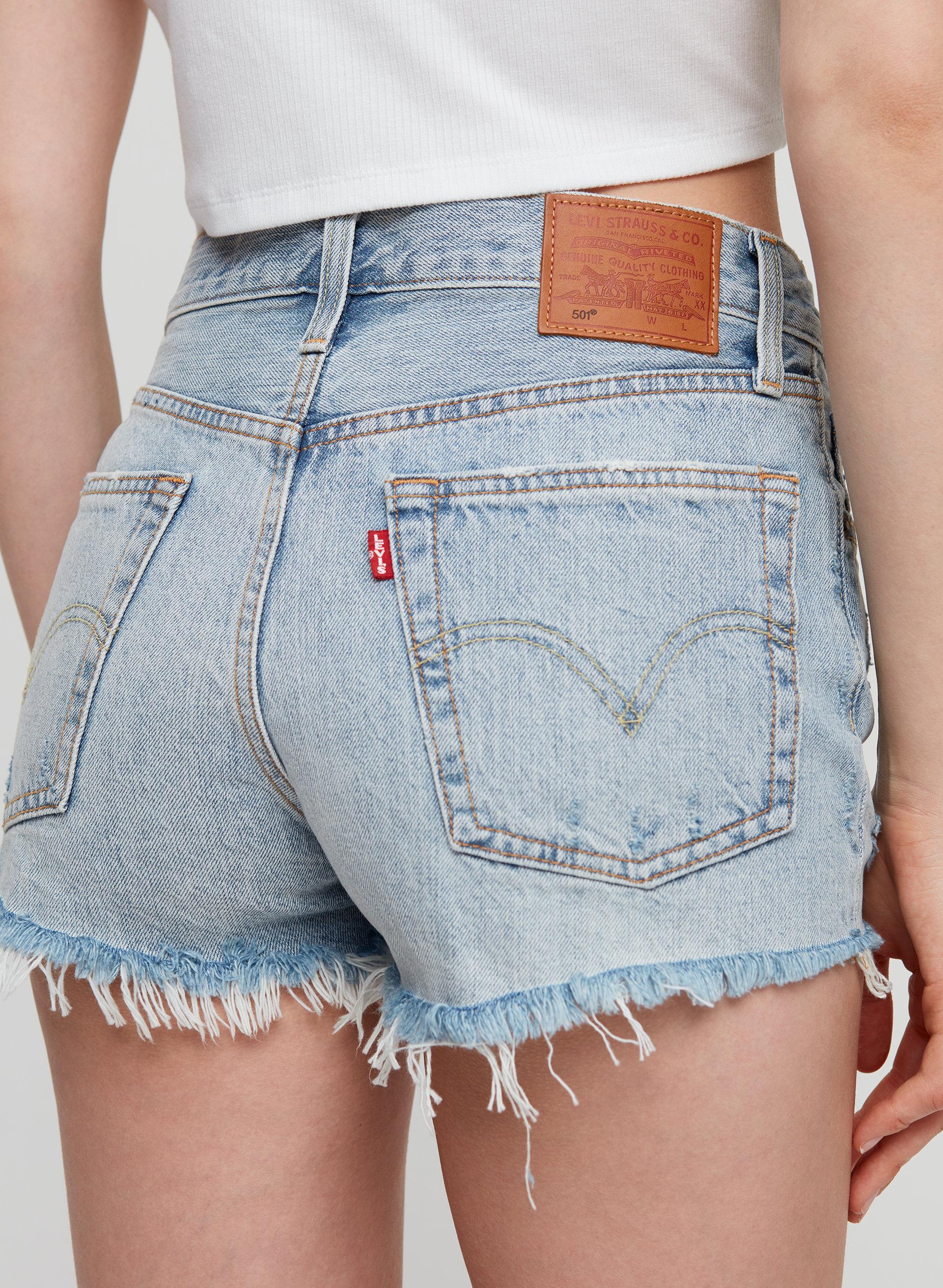 015fcac7 501 SHORT - Mid-rise denim shorts
