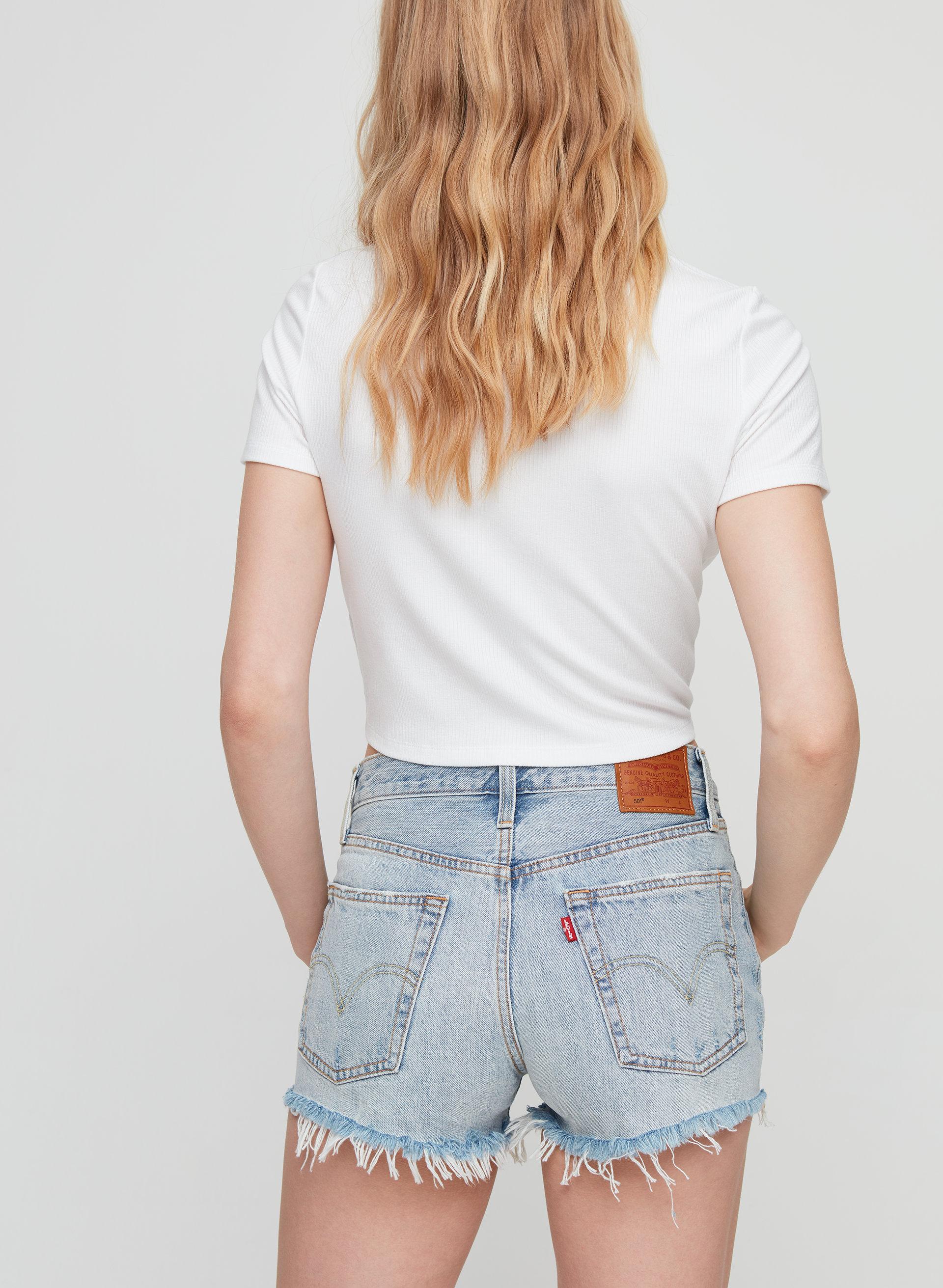 f41a5a62 501 SHORT - Mid-rise denim shorts