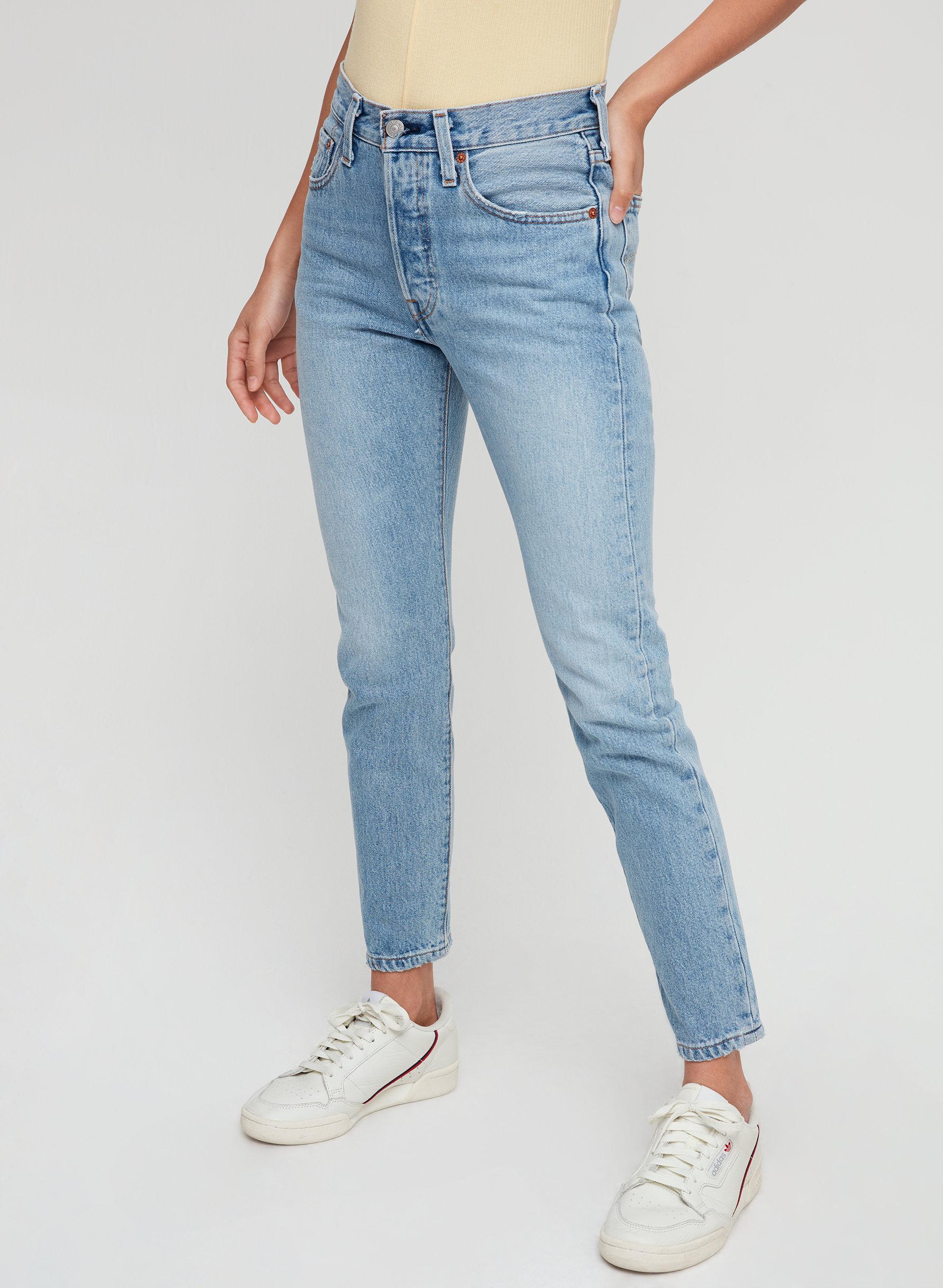 46671b23 501 SKINNY - Mid-rise skinny jean