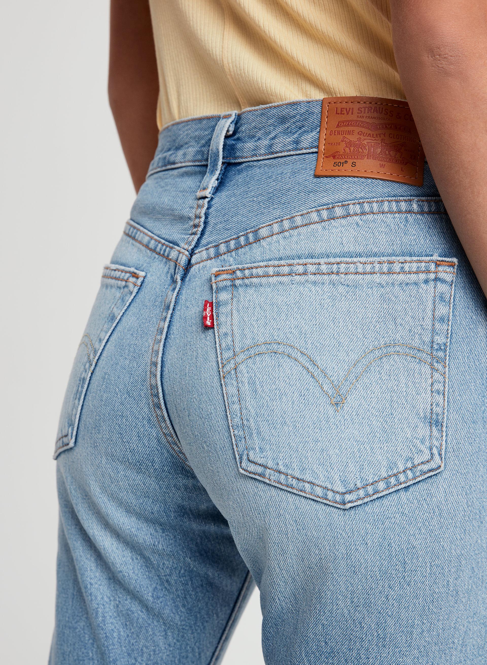 e43ee112 501 SKINNY - Mid-rise skinny jean