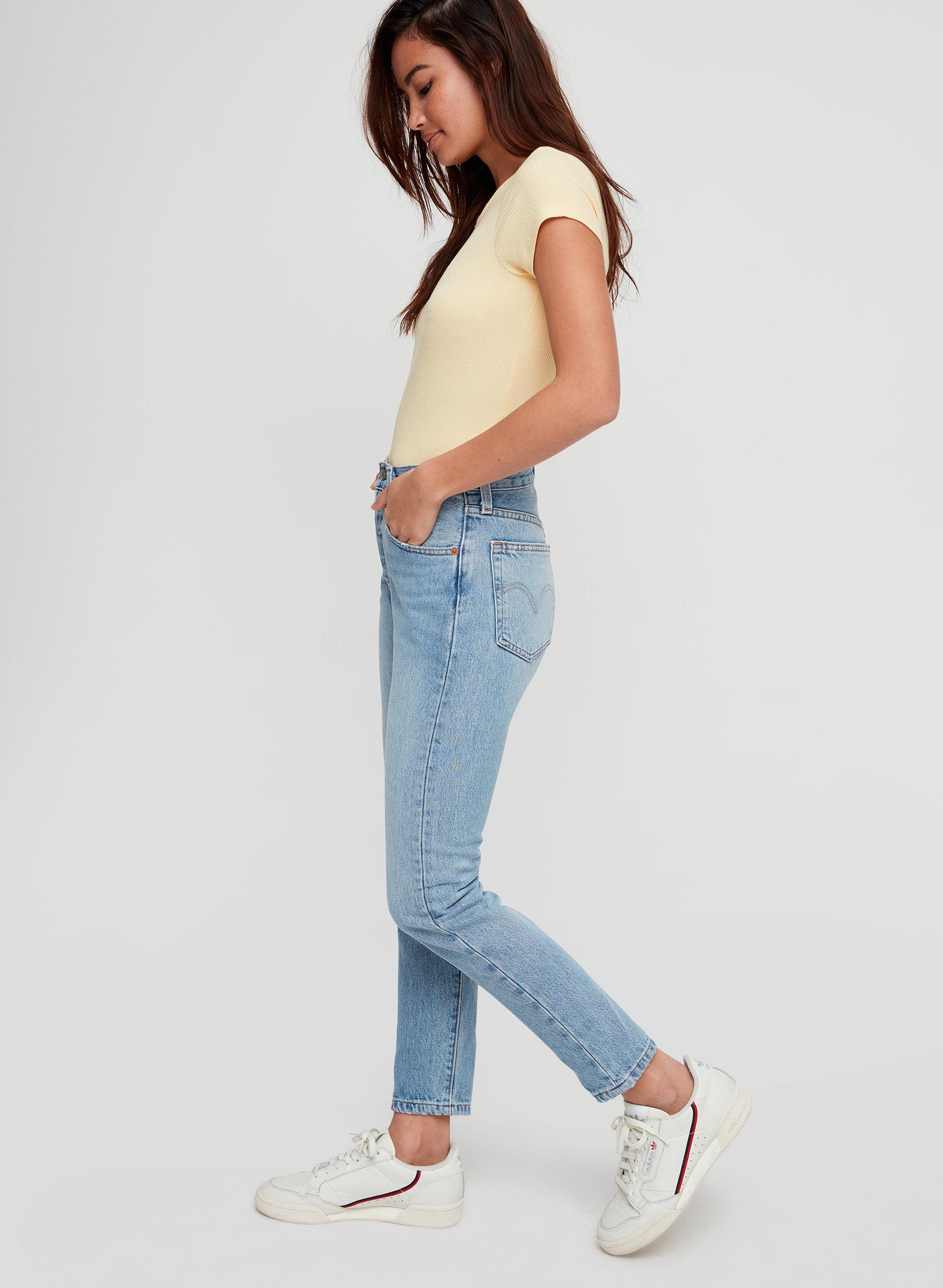 824bfe43497 501 SKINNY - Mid-rise skinny jean