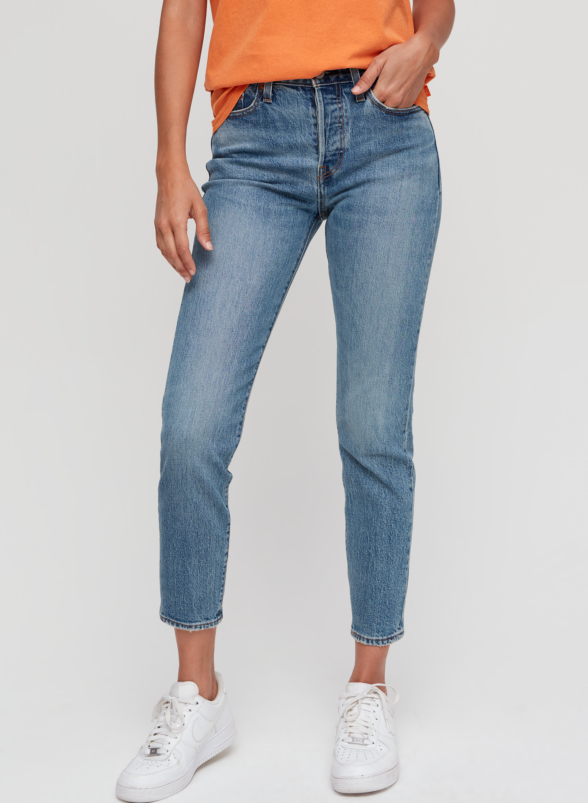 fd8529a5 High-waisted, skinny jean. Levi's WEDGIE ICON | Aritzia; Levi's WEDGIE ICON  | Aritzia ...