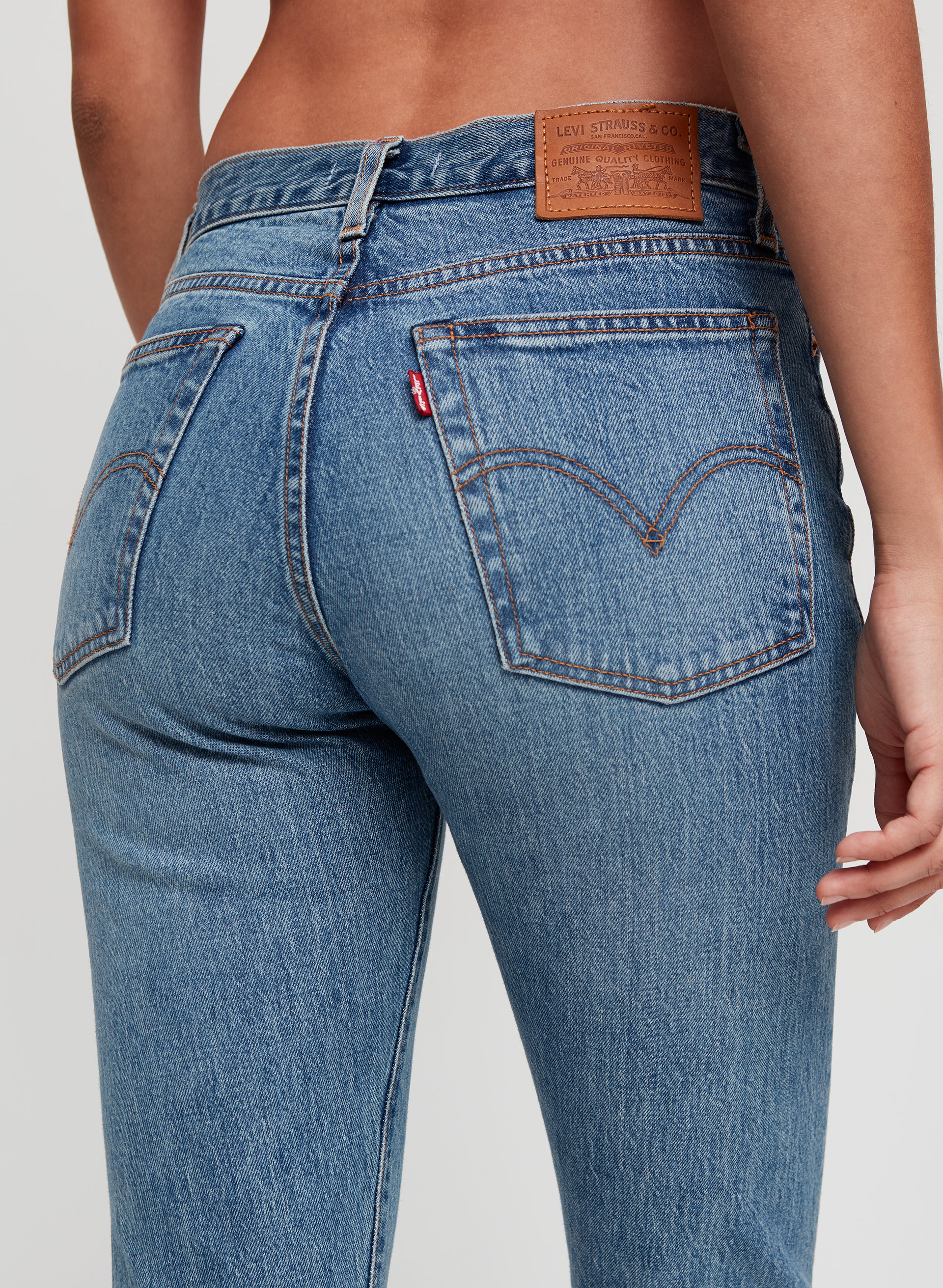 43c7831b WEDGIE ICON - High-waisted, skinny jean
