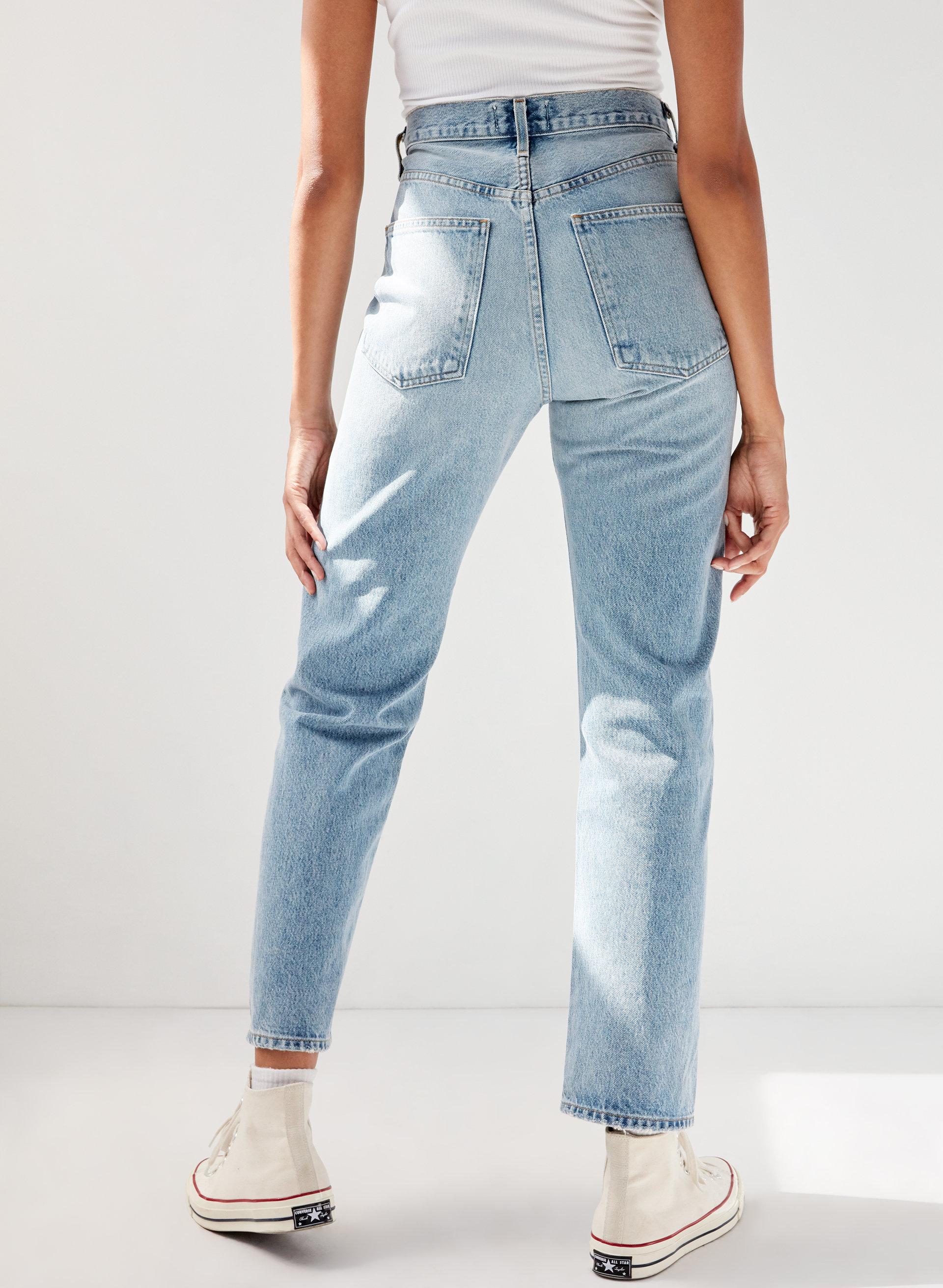 6862518683343f '90S JEAN AFFAIR - High-waisted boyfriend-fit jean