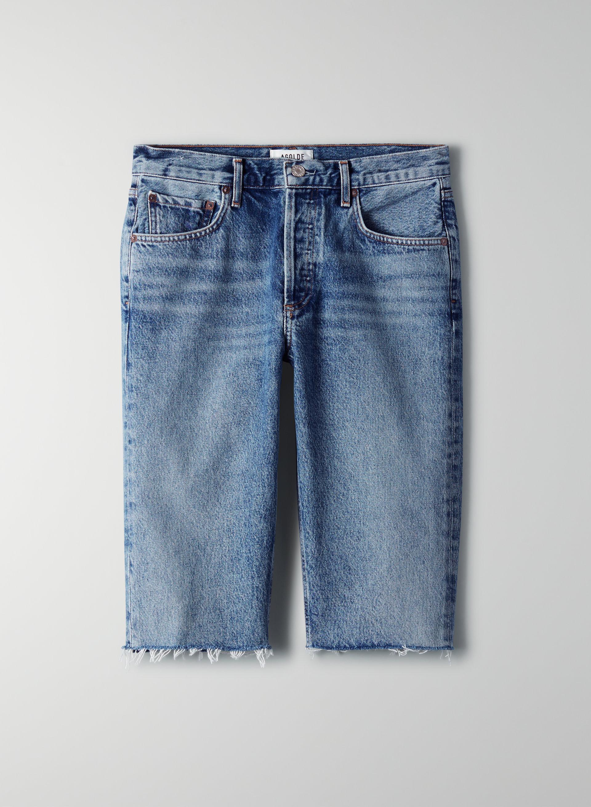 mid denim agolde carrie denim shorts 2 ali2b4ca09f