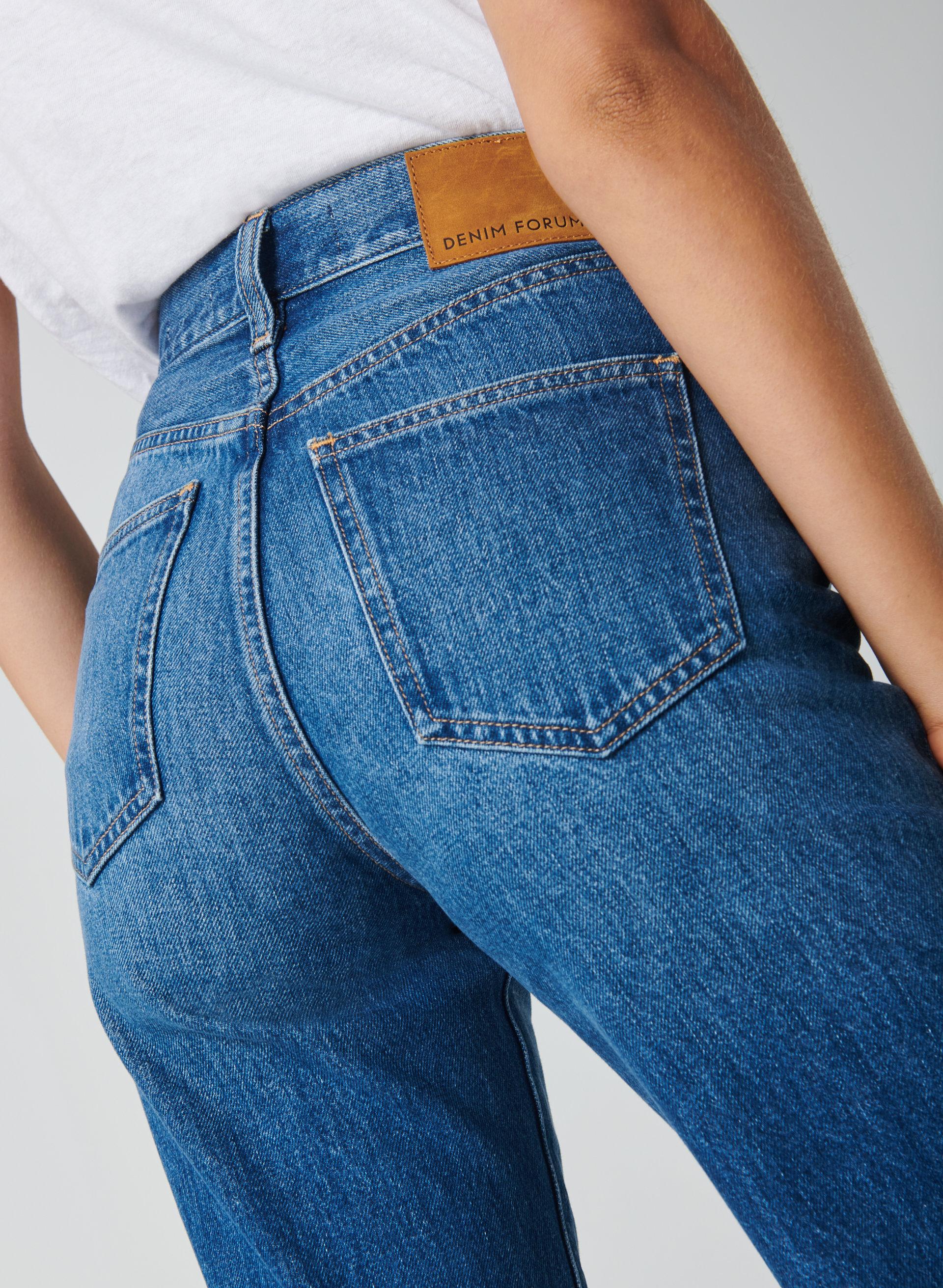 Farah Slim Jeans Taille 32 Jambe 30 BLEU MOYEN