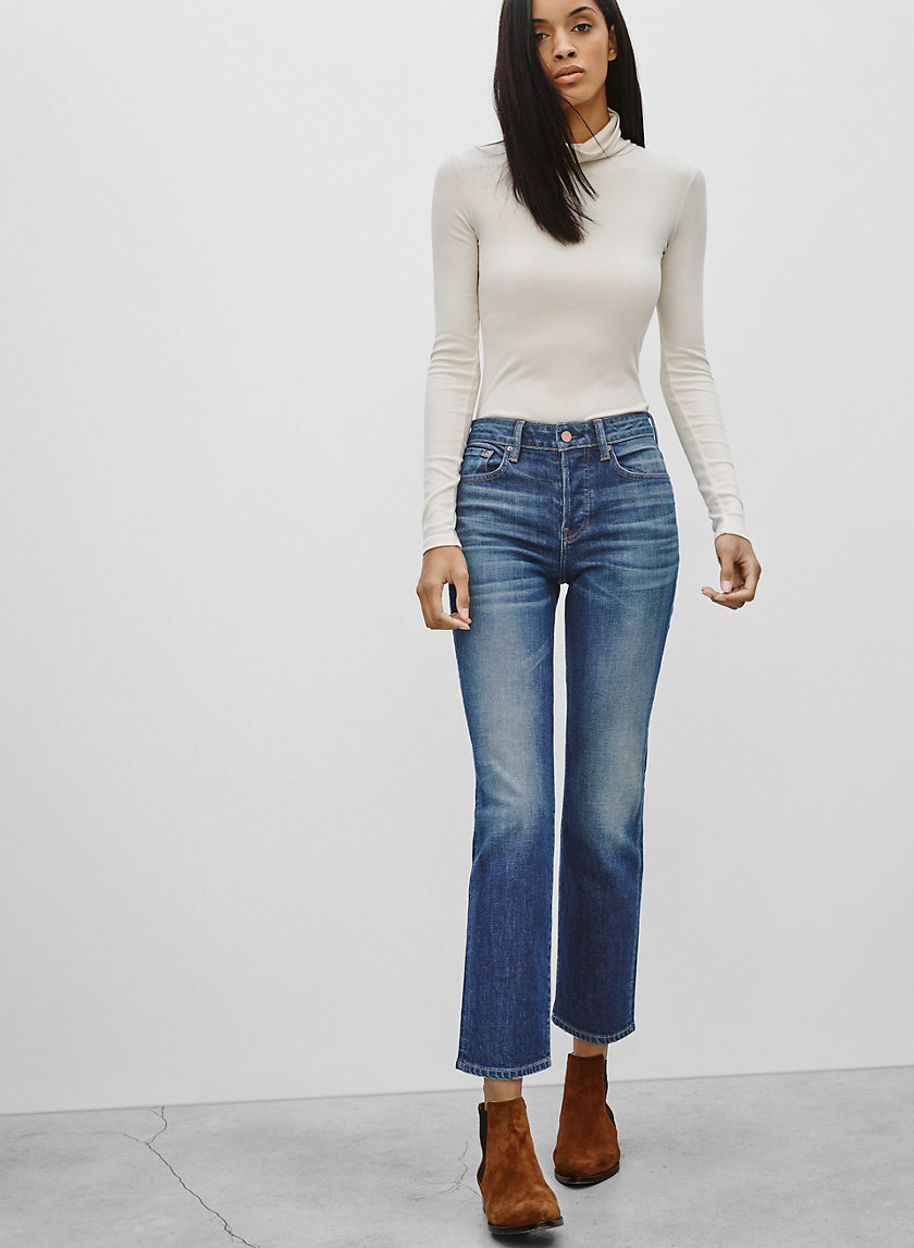 The Castings HIGH RISE CROPPED | Aritzia
