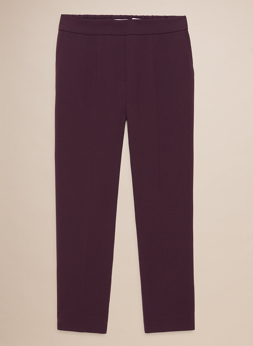 CONAN PANT TERADO - Cropped, slim-fit dress pant