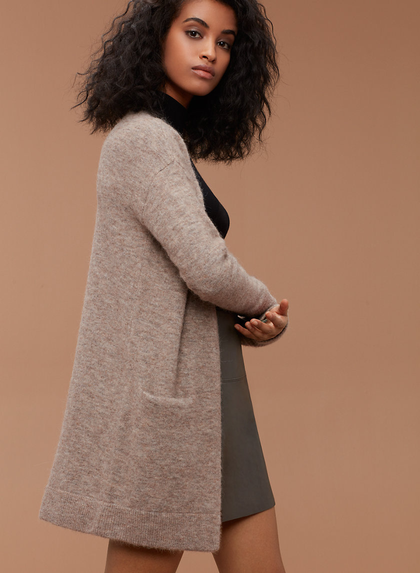 ARONSON SWEATER - Open-front cardigan