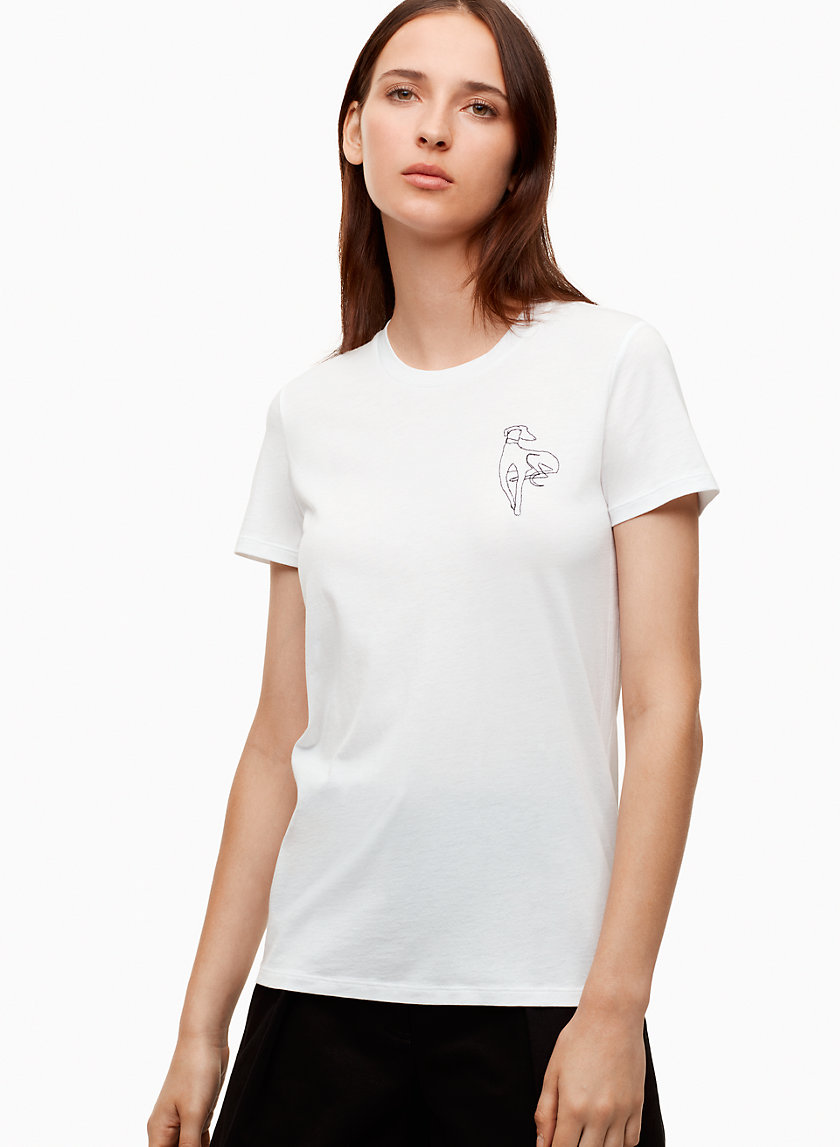 The Group by Babaton LAGARDE T-SHIRT | Aritzia
