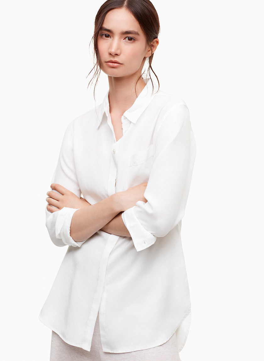 The Group by Babaton RENO SHIRT | Aritzia