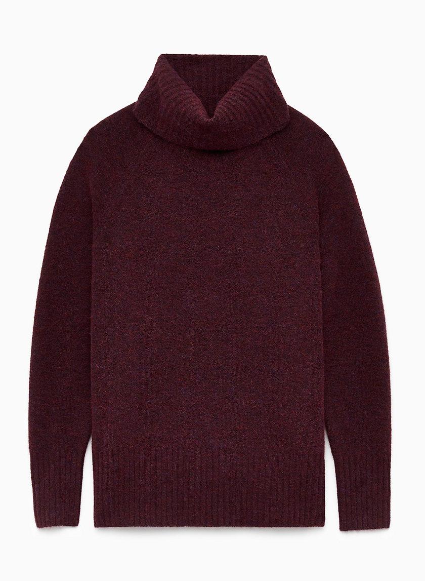 PLUTARCH SWEATER - Alpaca-blend turtleneck sweater