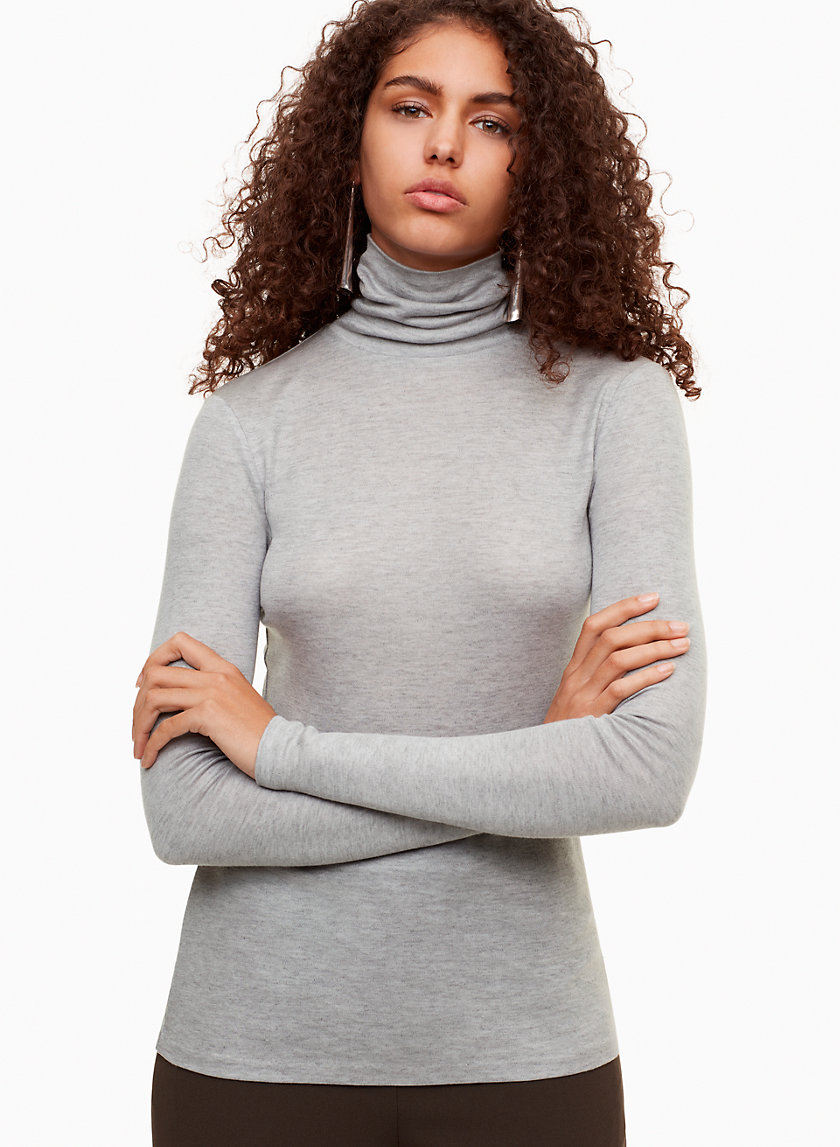 DEDRICK T-SHIRT - Long-sleeve, turtleneck t-shirt