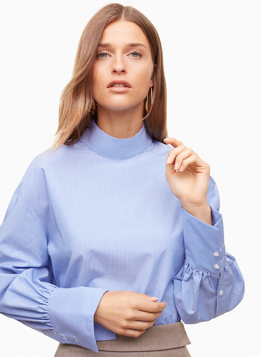 Babaton CHURCHILL BLOUSE | Aritzia
