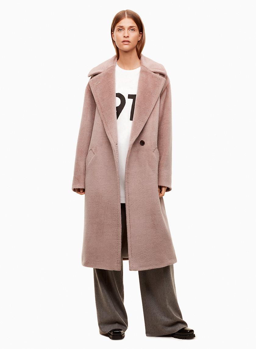 CAROLEE COAT - Relaxed, wool blazer coat