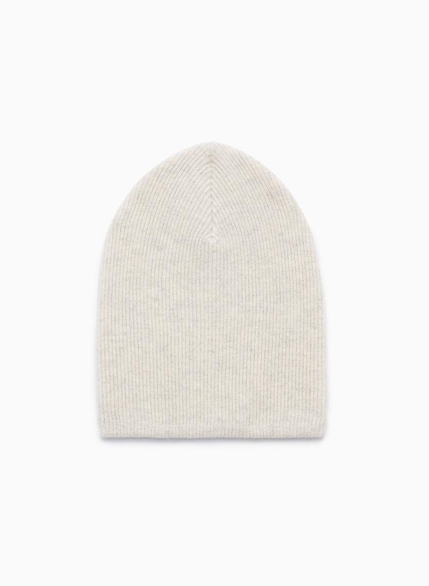 DENNIS FLOPPY HAT - Ribbed, knit beanie