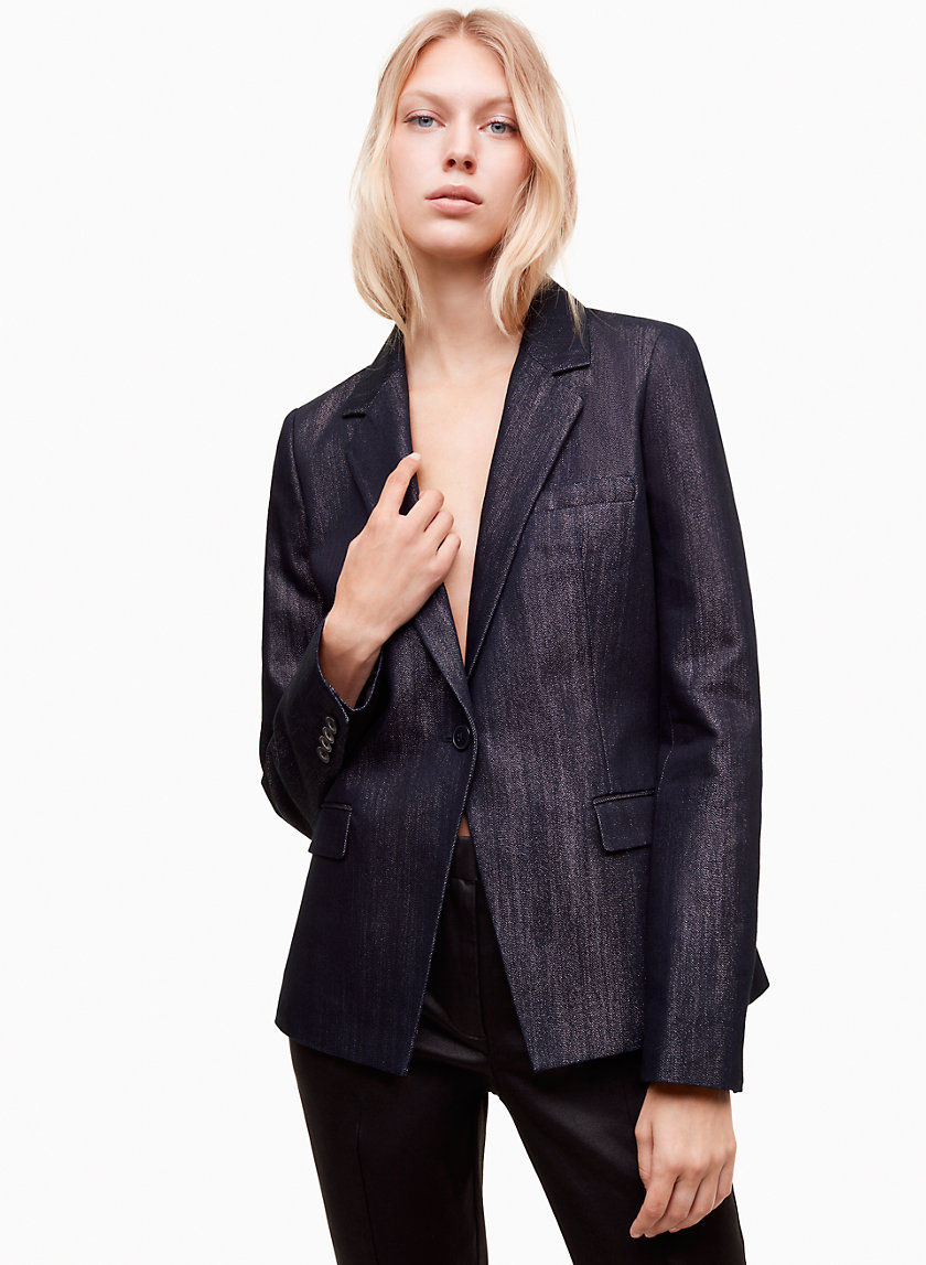 Talula SINGLE-BUTTON BLAZER | Aritzia