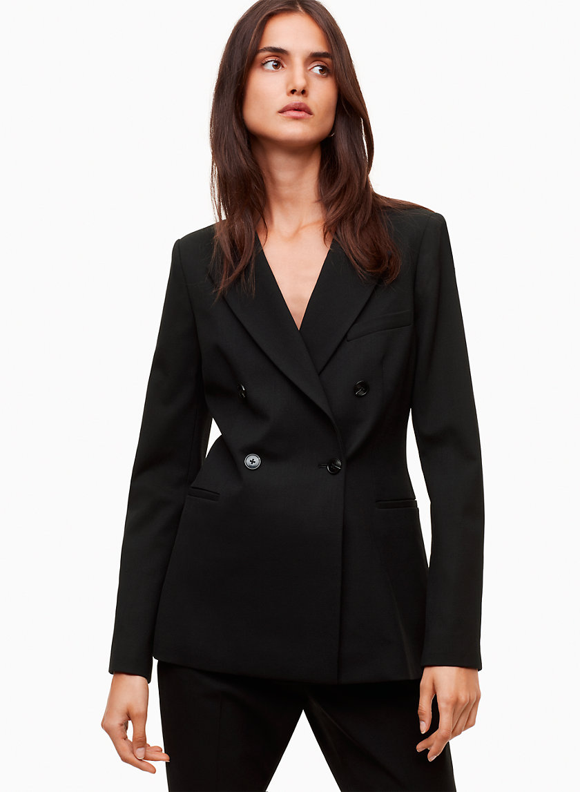 Talula DOUBLE BREASTED BLAZER | Aritzia