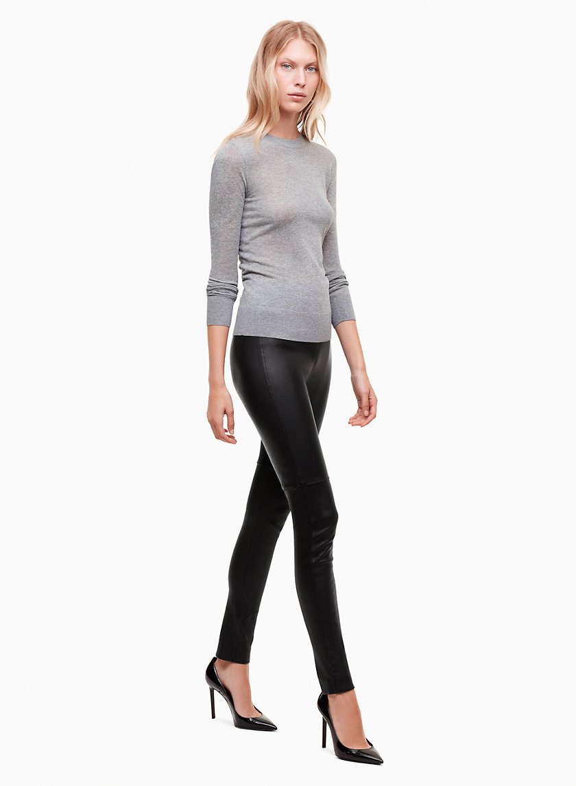 Talula STRETCH LEATHER PANT | Aritzia