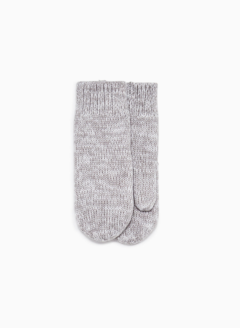 LOLO MITTEN - Fleece-lined, knit mittens
