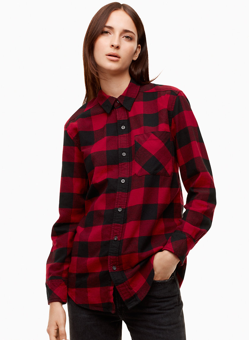 BRISCO SHIRT - Plaid flannel shirt