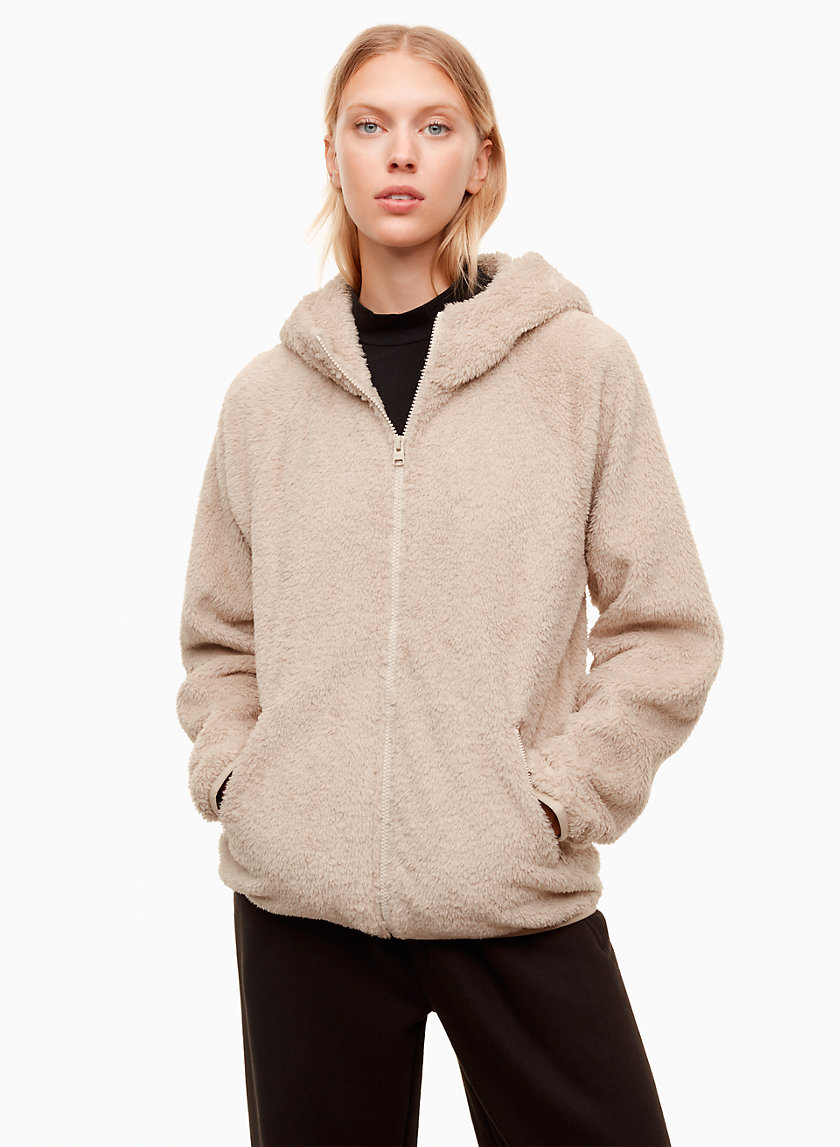 Tna THE TEDDY ZIP-UP | Aritzia