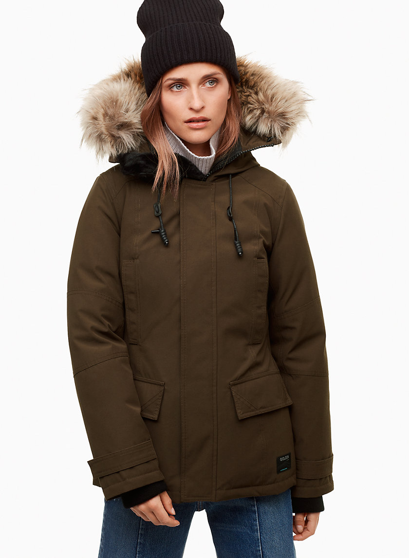 Golden by Tna LARSEN PARKA | Aritzia