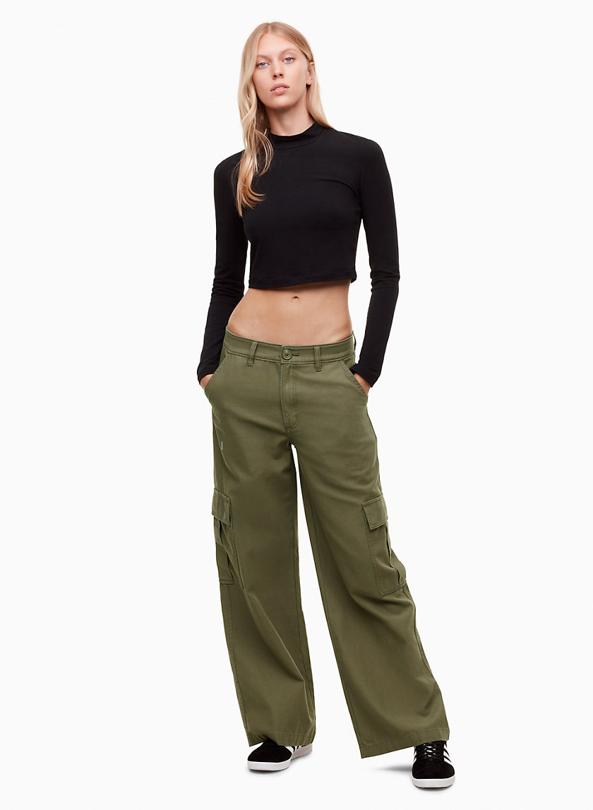 Golden by Tna FISHER PANT | Aritzia