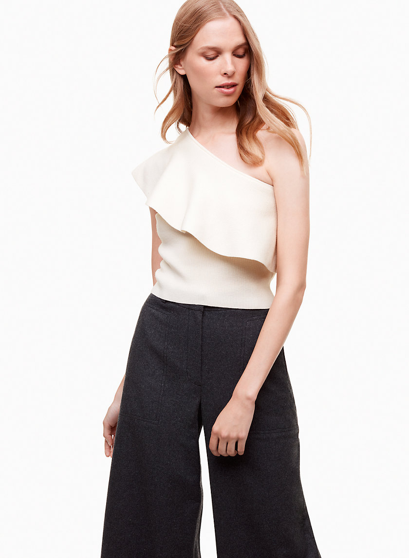 Wilfred GEORGINE KNIT TOP | Aritzia