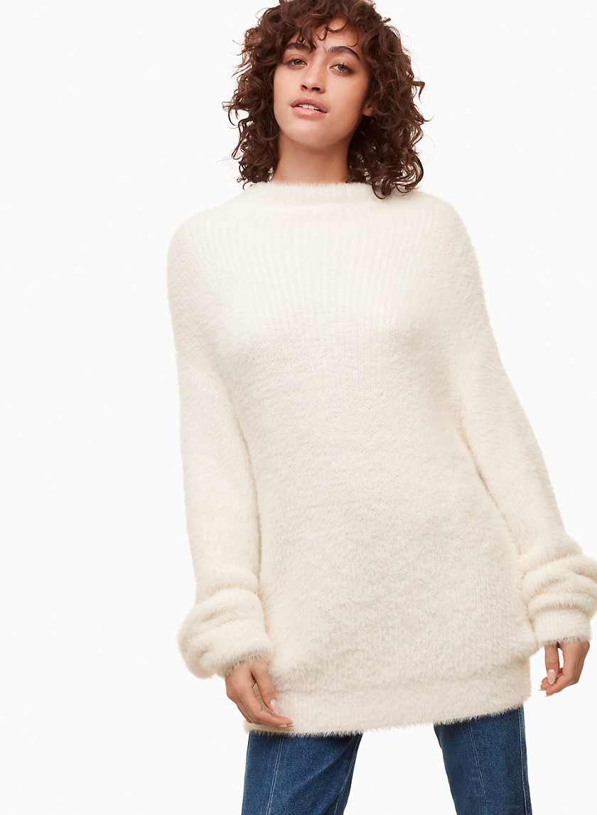 MONTPELLIER SWEATER - Fuzzy turtleneck sweater