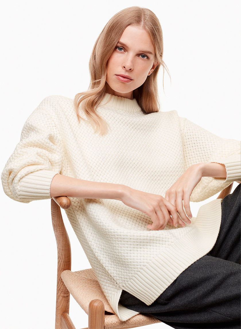 Wilfred LEVERETT SWEATER | Aritzia