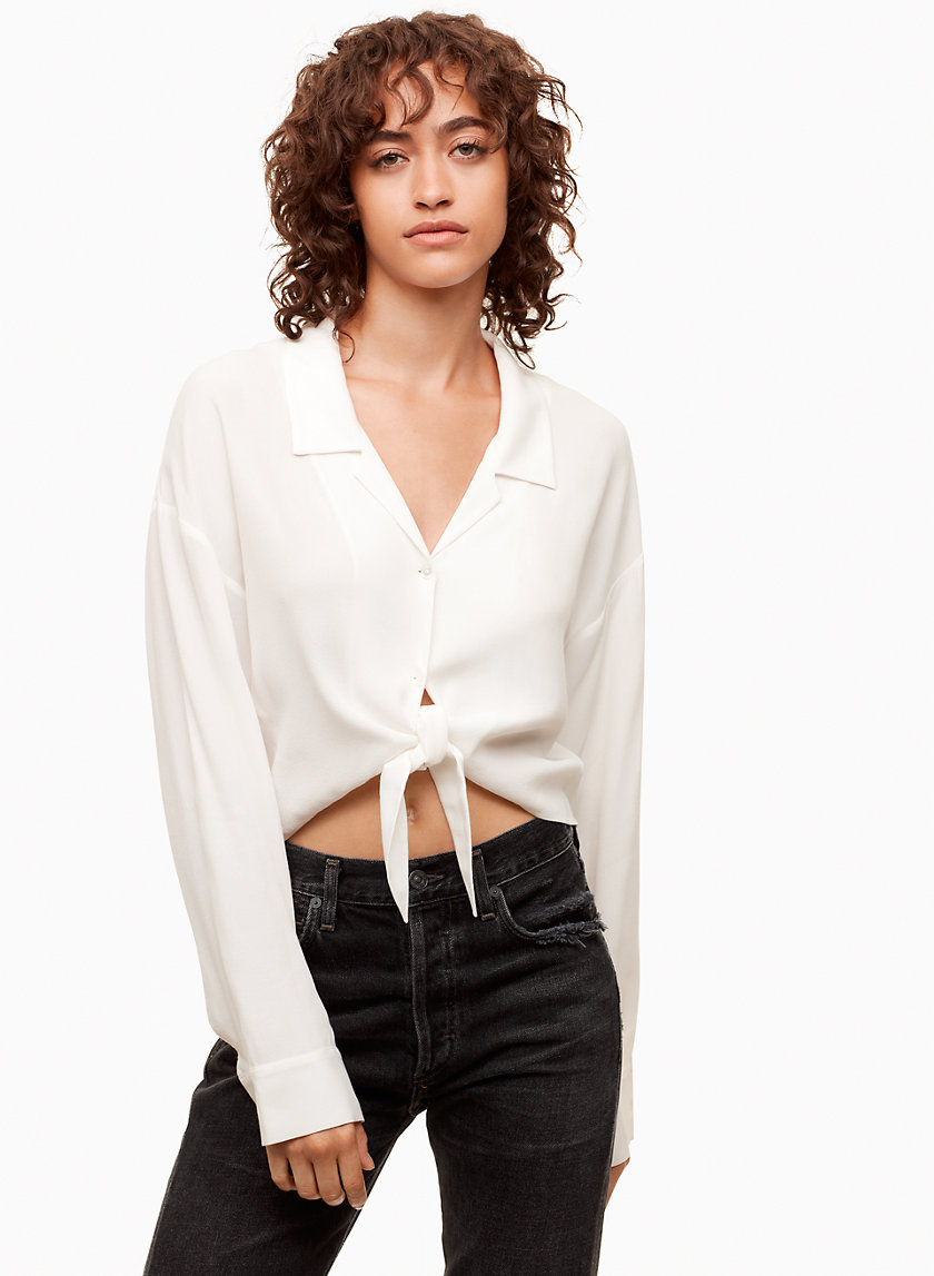 Wilfred Free RODGERS BLOUSE | Aritzia