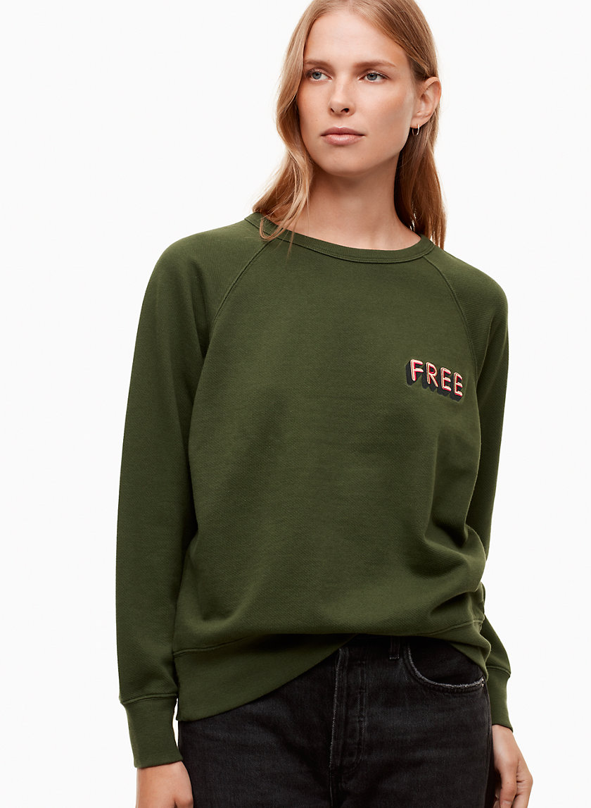 Wilfred Free ISSA SWEATER | Aritzia