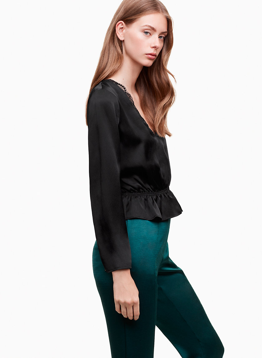 Little Moon OSMUNDA BLOUSE | Aritzia