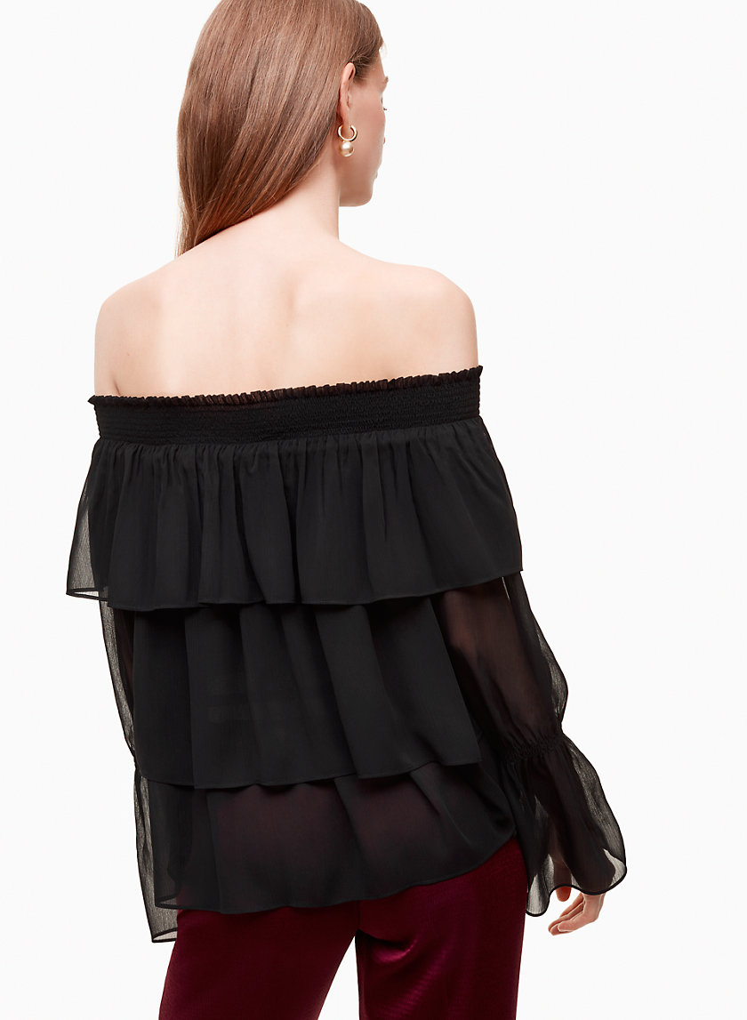 Little Moon GLADIOLUS BLOUSE | Aritzia
