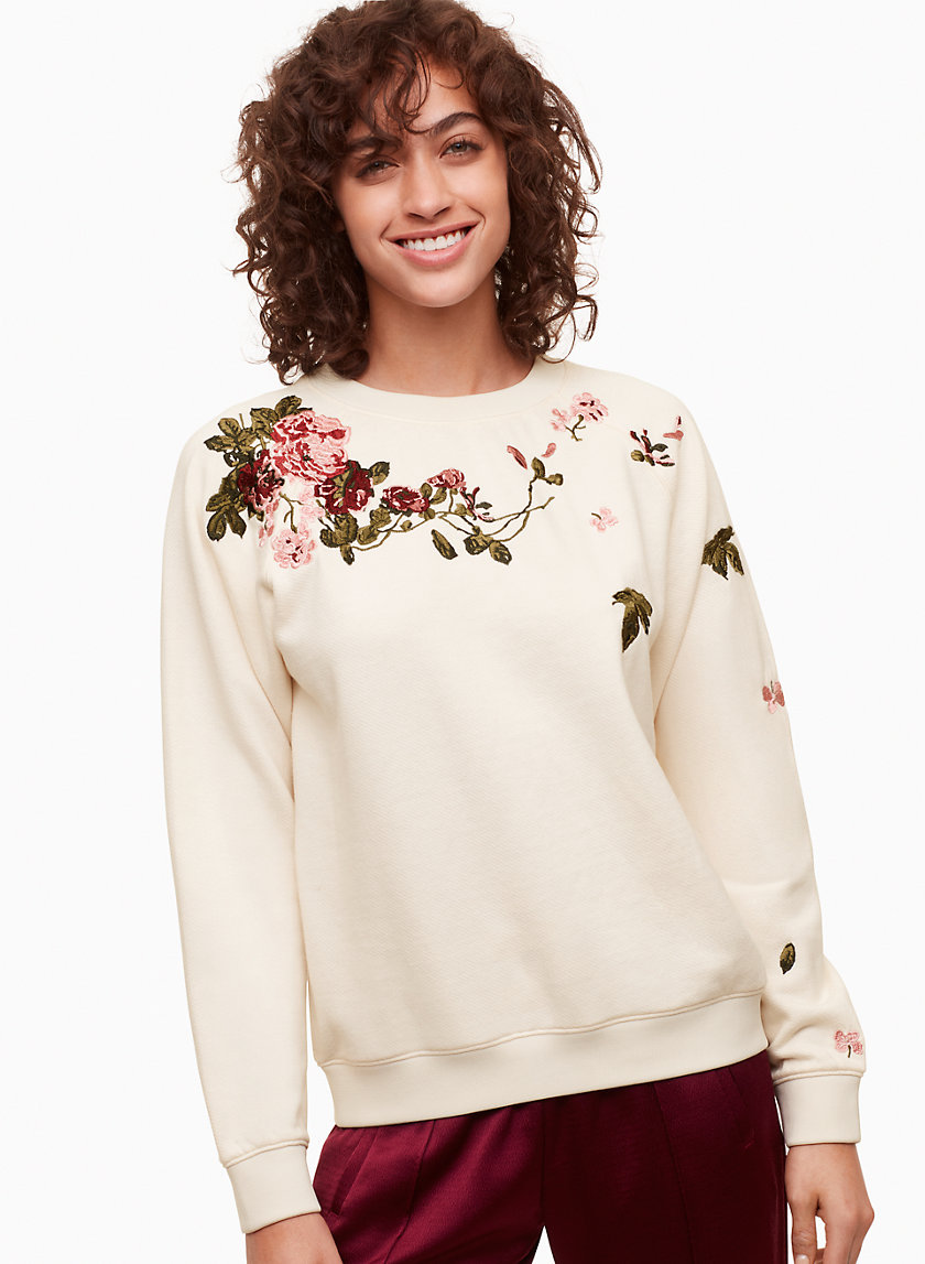 Little Moon AMARANTH SWEATER | Aritzia
