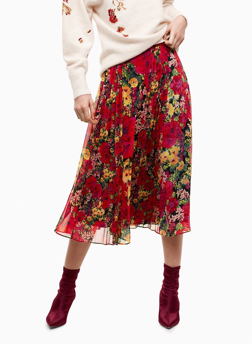 Little Moon PEONY SKIRT | Aritzia