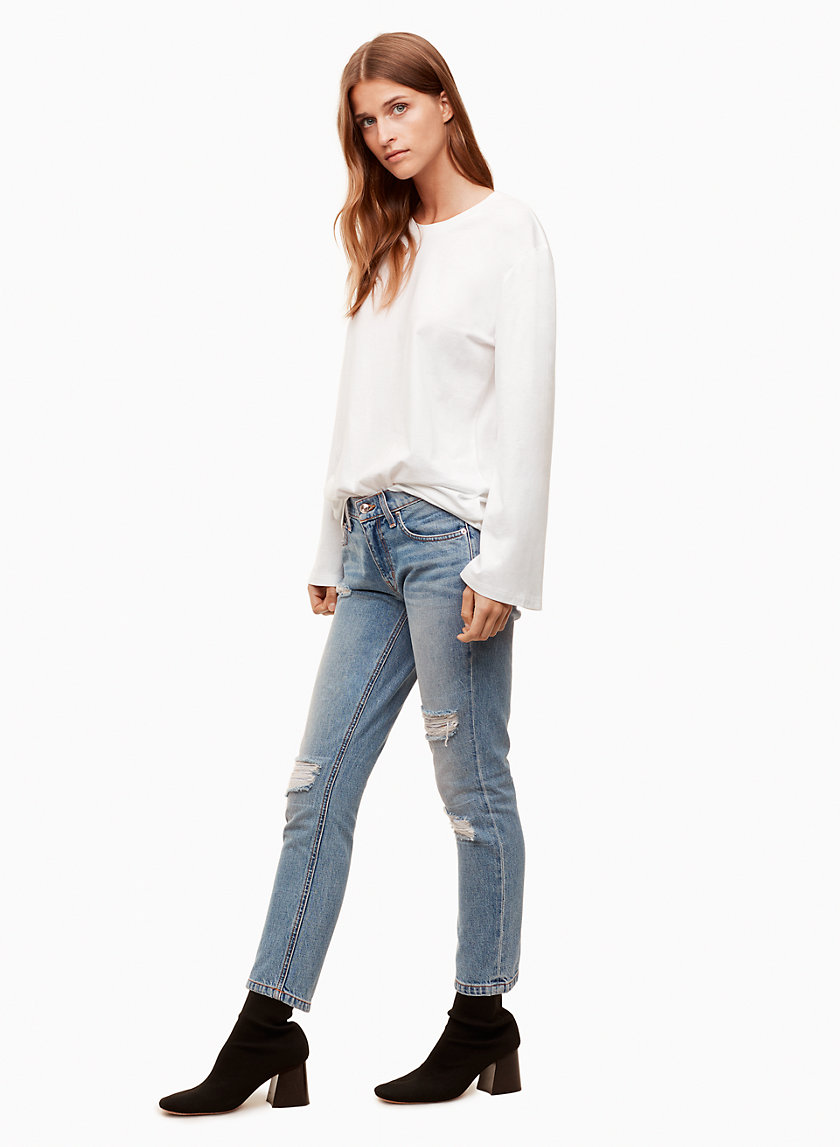 10Crosby JEANS DROIT MILA LIGHT WASH | Aritzia