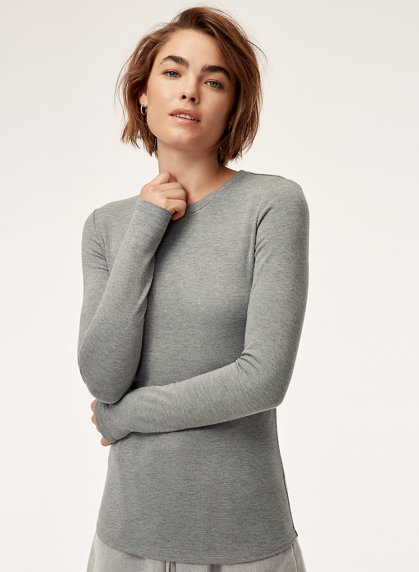The Group by Babaton GAL CREW LONGSLEEVE | Aritzia