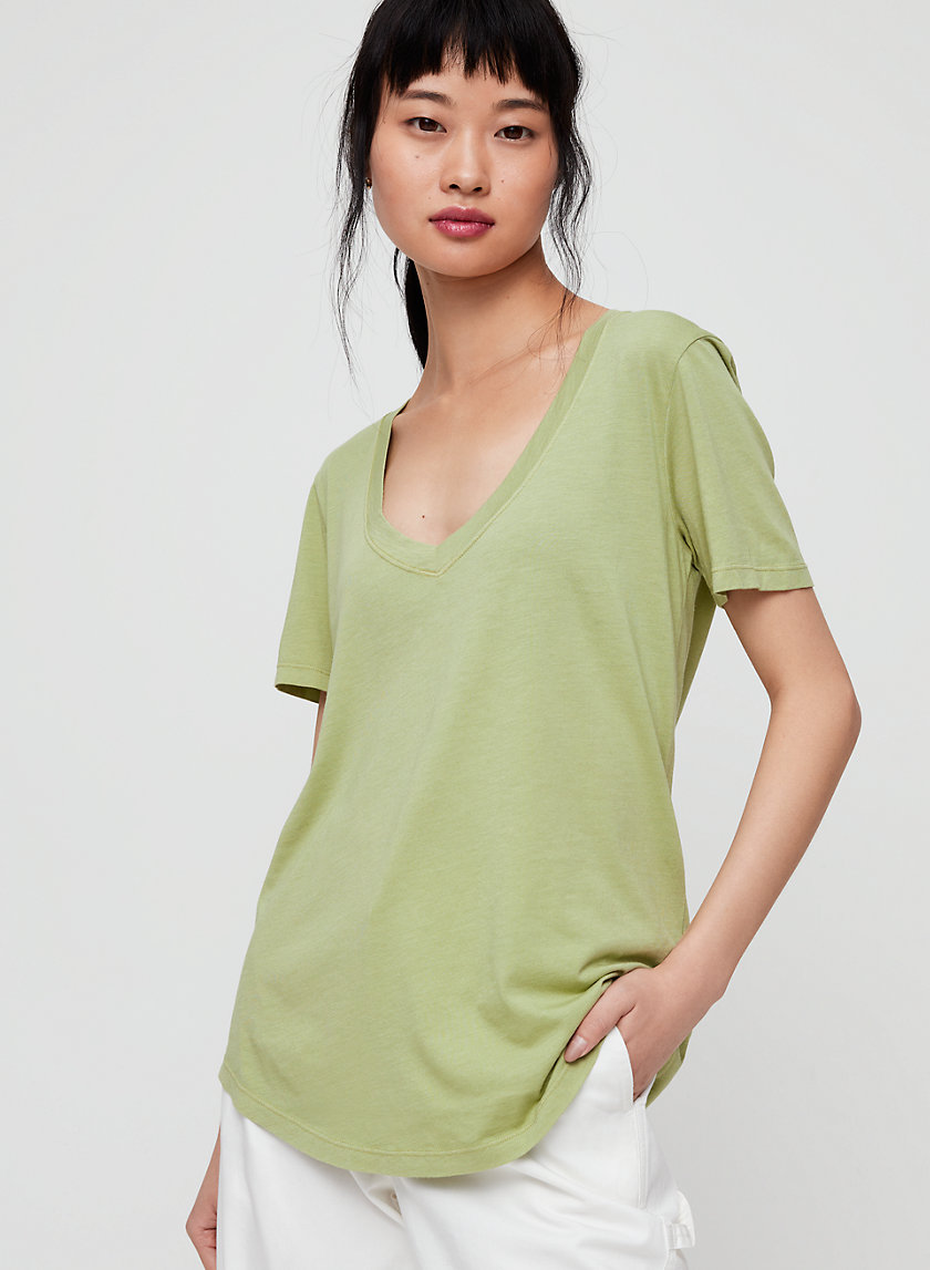 The Group by Babaton FOUNDATION V-NECK | Aritzia