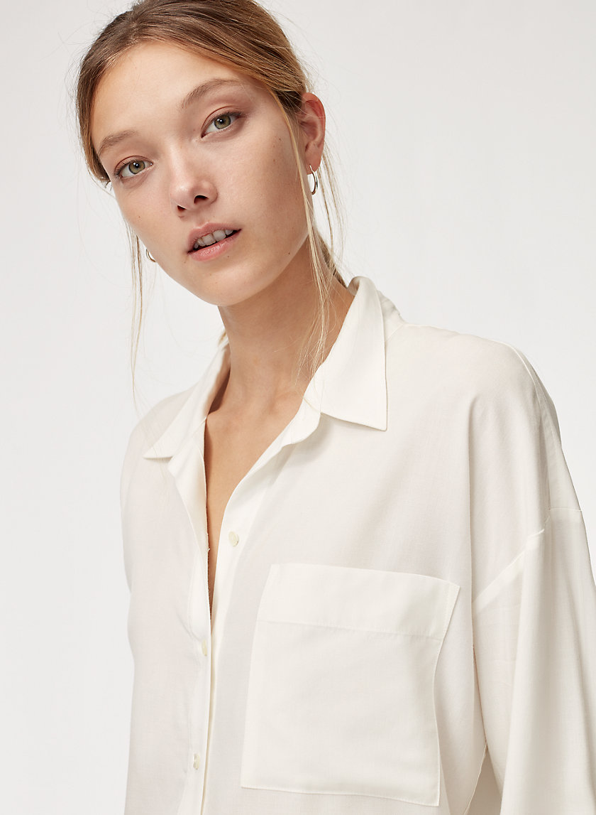 The Group by Babaton MERYL SHIRT | Aritzia