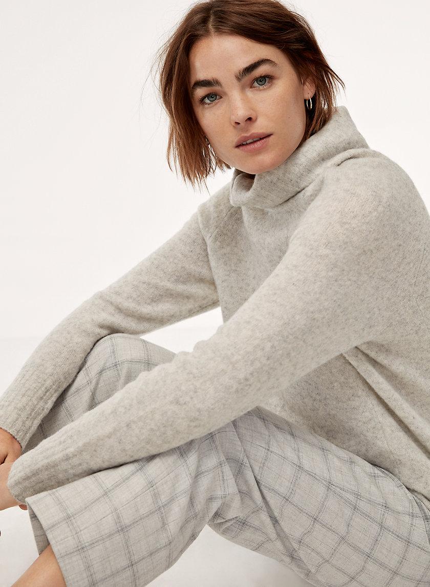 PLUTARCH SWEATER - Wool-blend turtleneck sweater