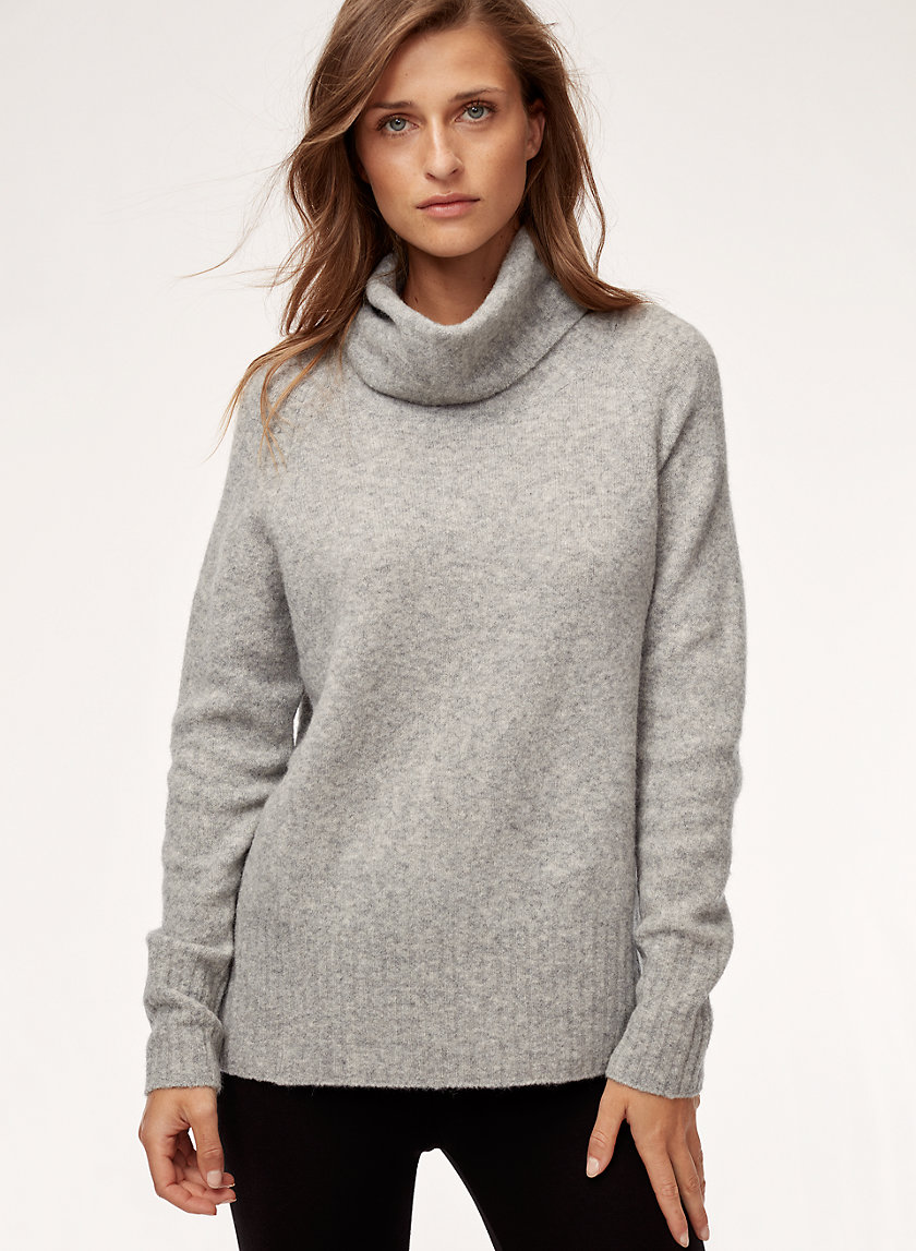 PLUTARCH SWEATER - Wool-blend turtleneck sweater